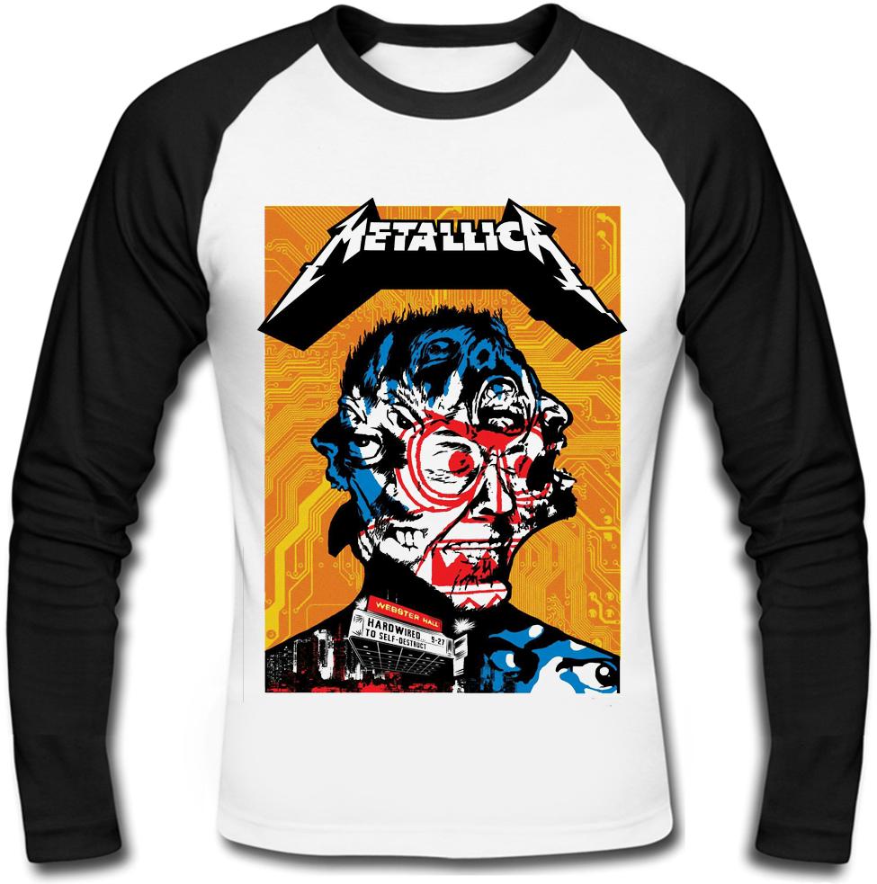 """Футболка с длинным рукавом Metallica """"Hardwired...To Self-Destruct"""" (art)"""