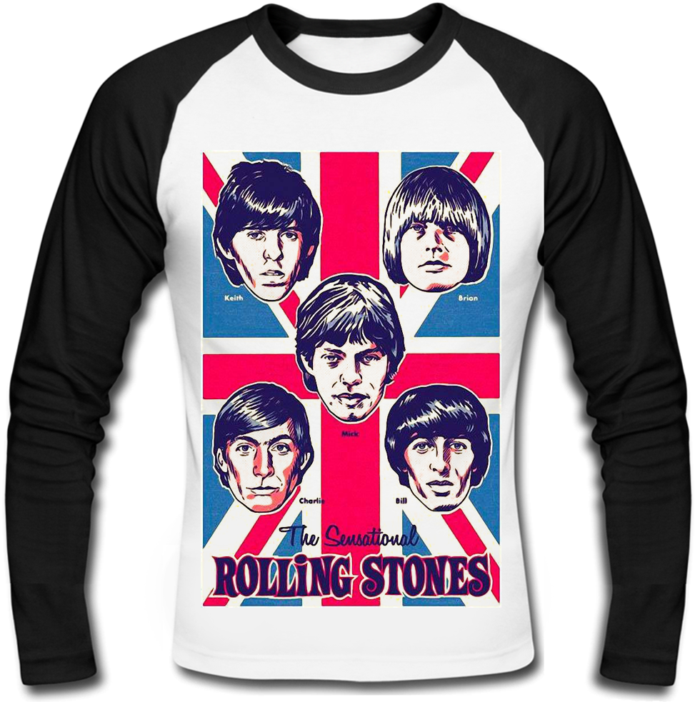 Футболка с длинным рукавом The Rolling Stones (band)