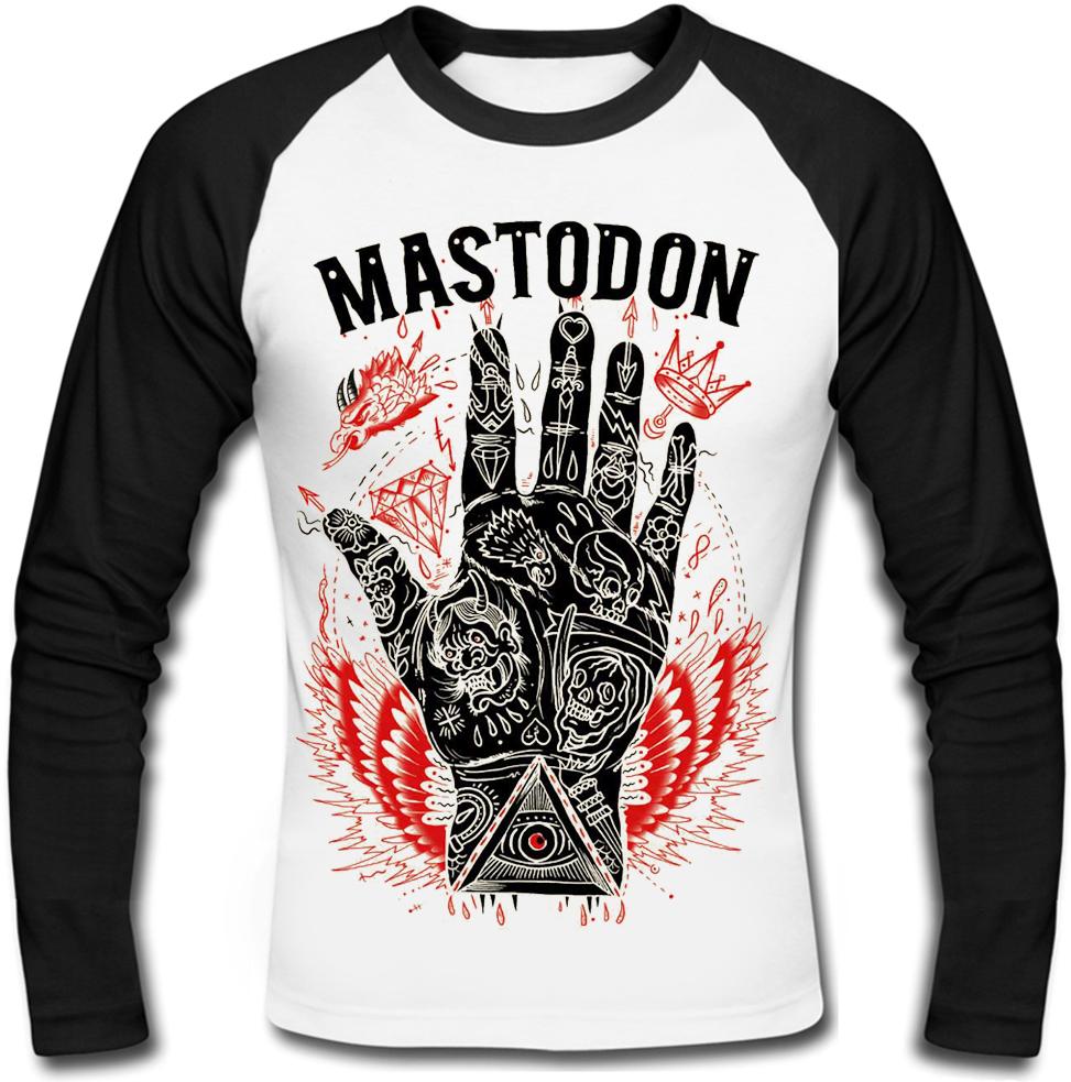 Футболка з довгим рукавом Mastodon (hand)