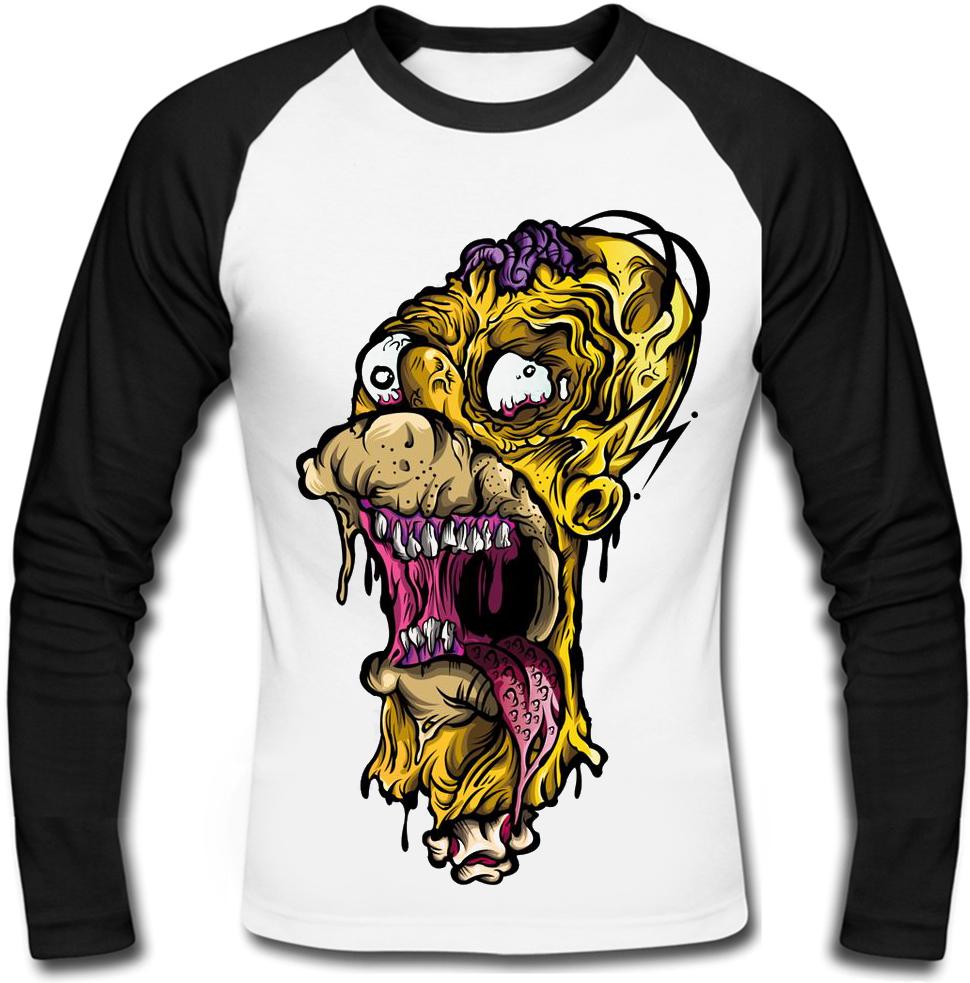 Футболка с длинным рукавом Zombie Homer (The Simsons)