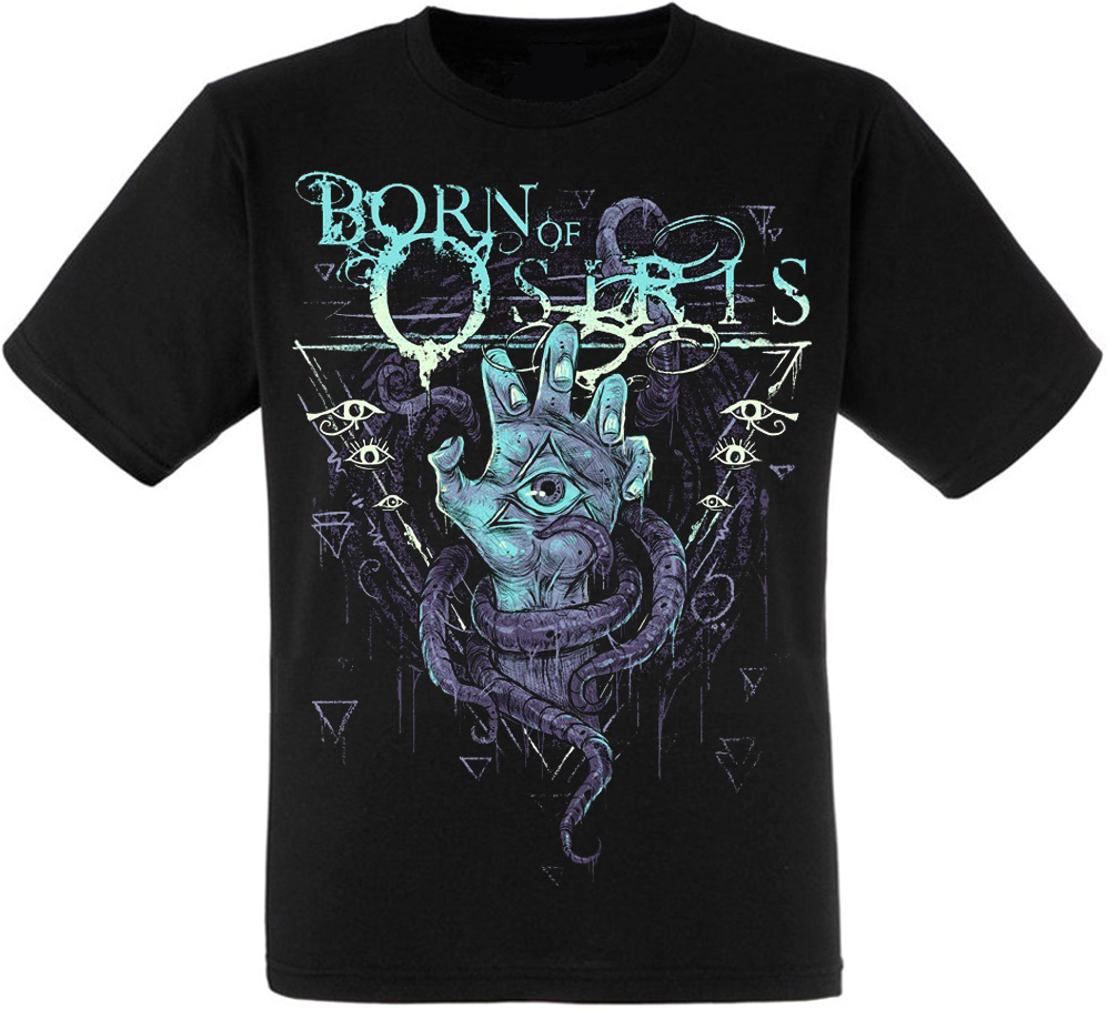 Футболка Born Of Osiris (hand with eye)