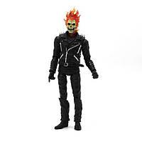 Фигурка Призрачный Гонщик 25 см Ghost Rider Marvel