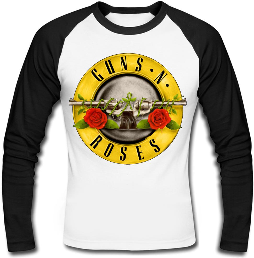 Футболка с длинным рукавом Guns N' Roses (logo)