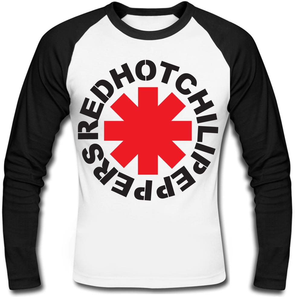Футболка с длинным рукавом Red Hot Chili Peppers (logo)