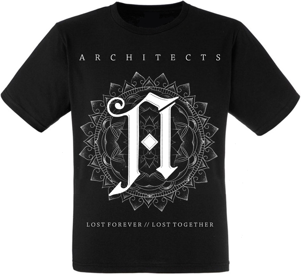 """Футболка Architects """"Lost Forever // Lost Together"""""""