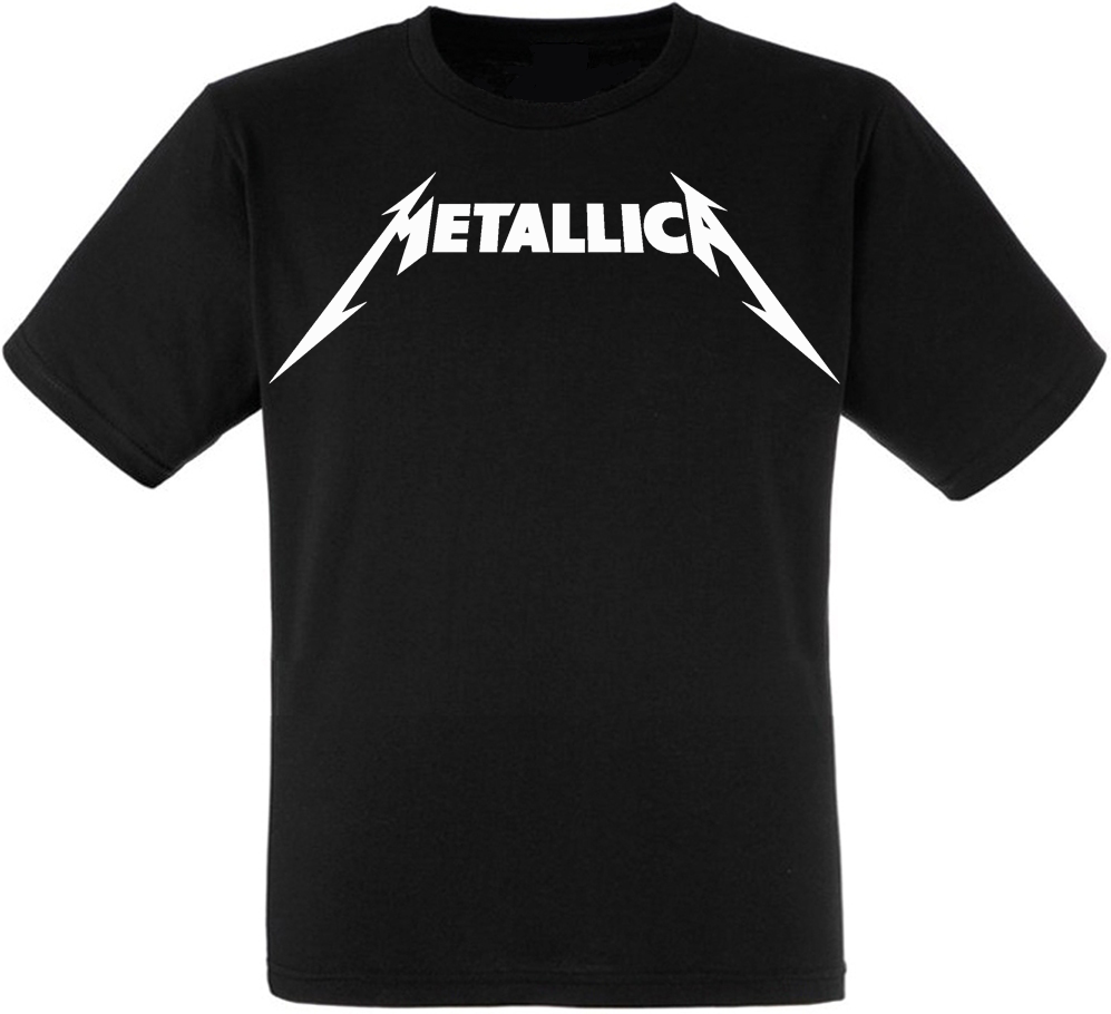 Футболка Metallica (white logo)