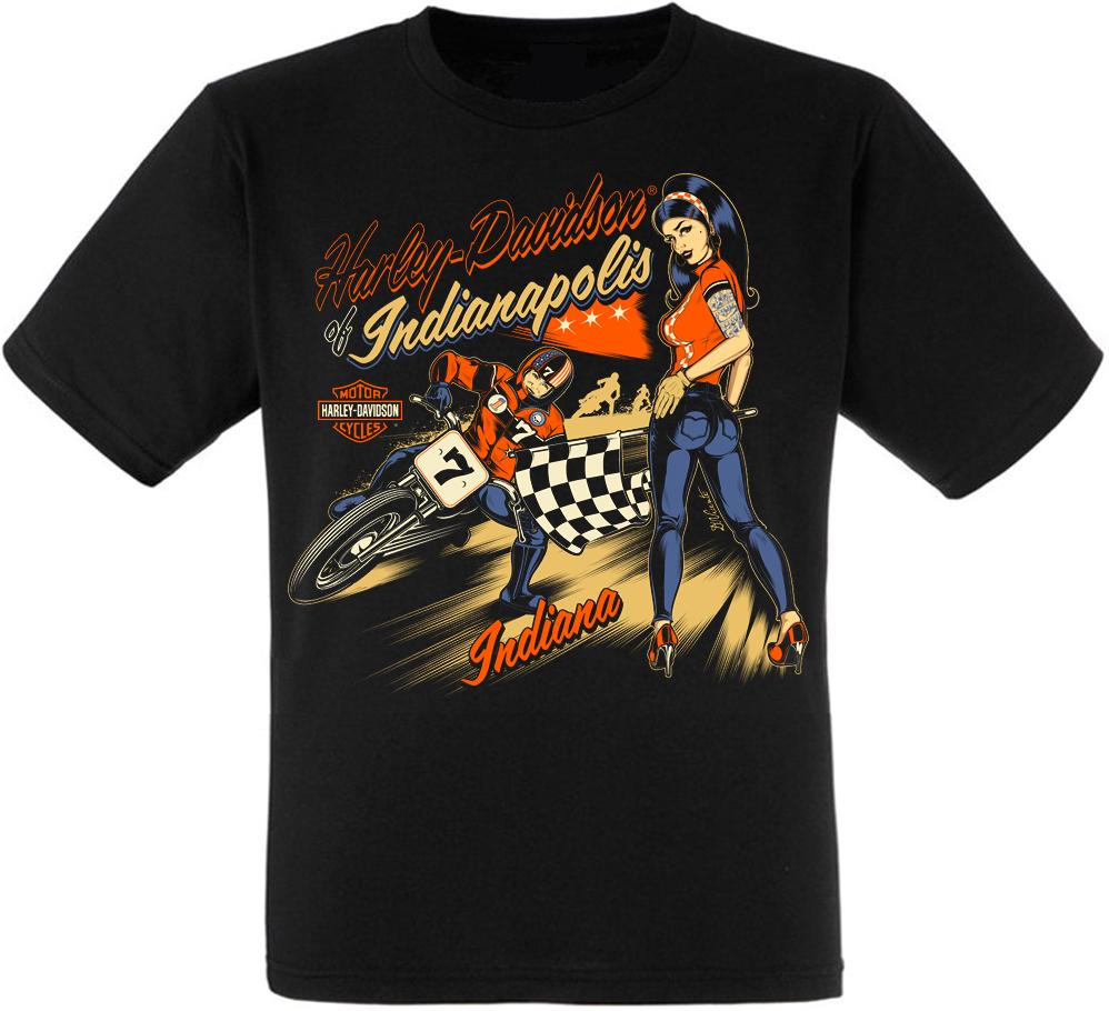 "Футболка Harley Davidson of Indianapolis ""Indiana"""