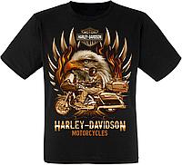 "Футболка Harley Davidson Motorcycles ""Eagle"""