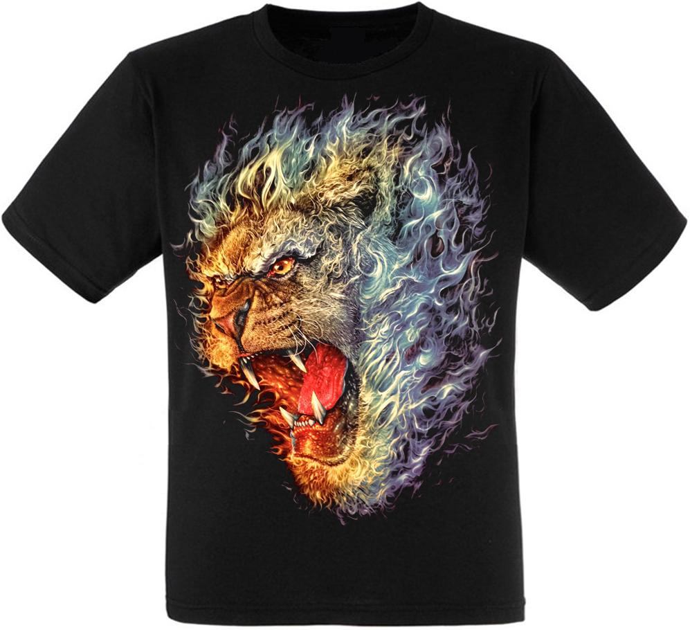 Футболка Flamming Lion