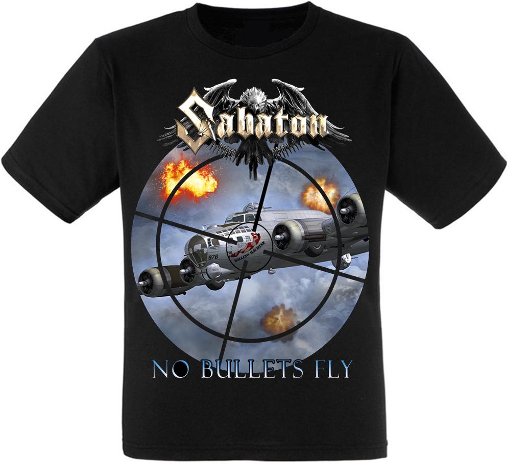 "Футболка Sabaton ""No Bullets Fly"""