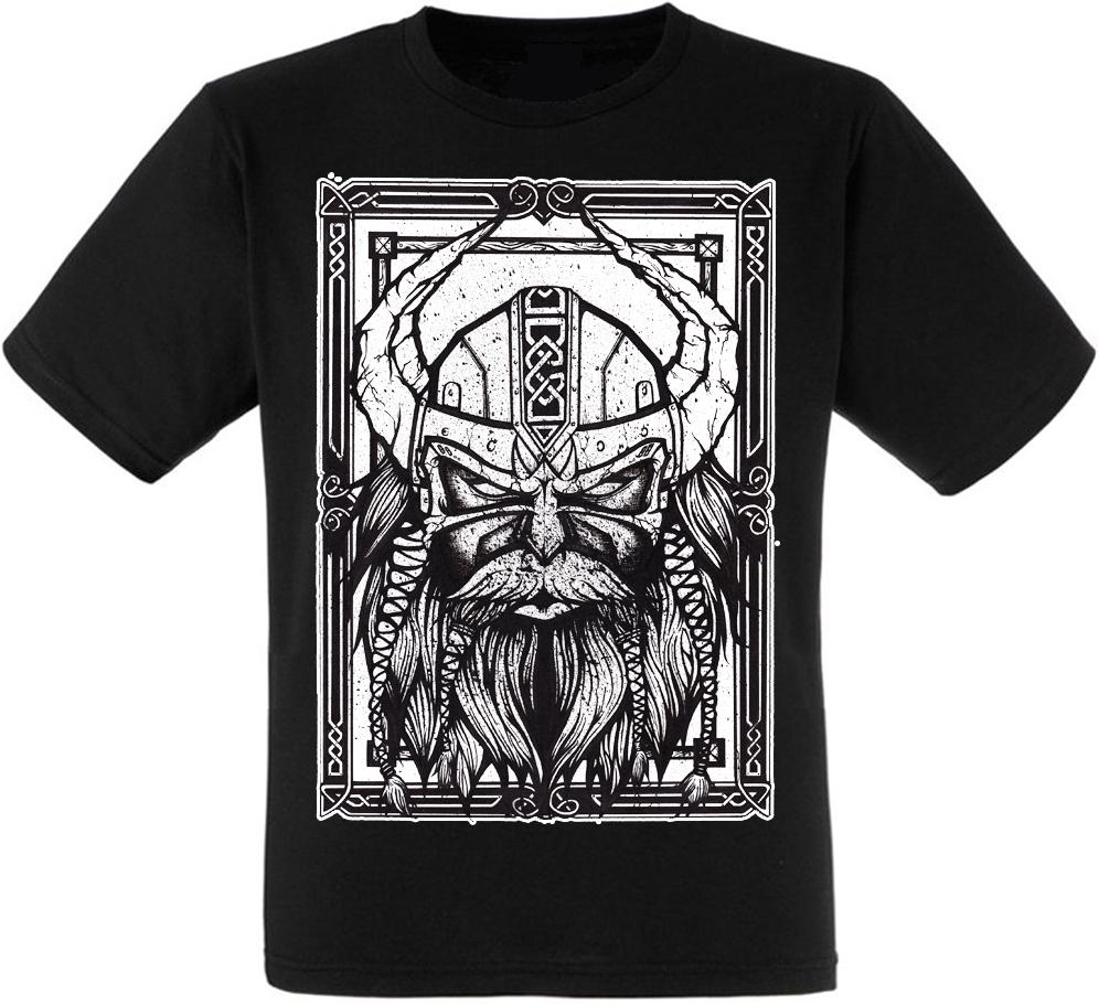 "Футболка Viking ""Thor Hammer Mjolnir"" (чорна)"