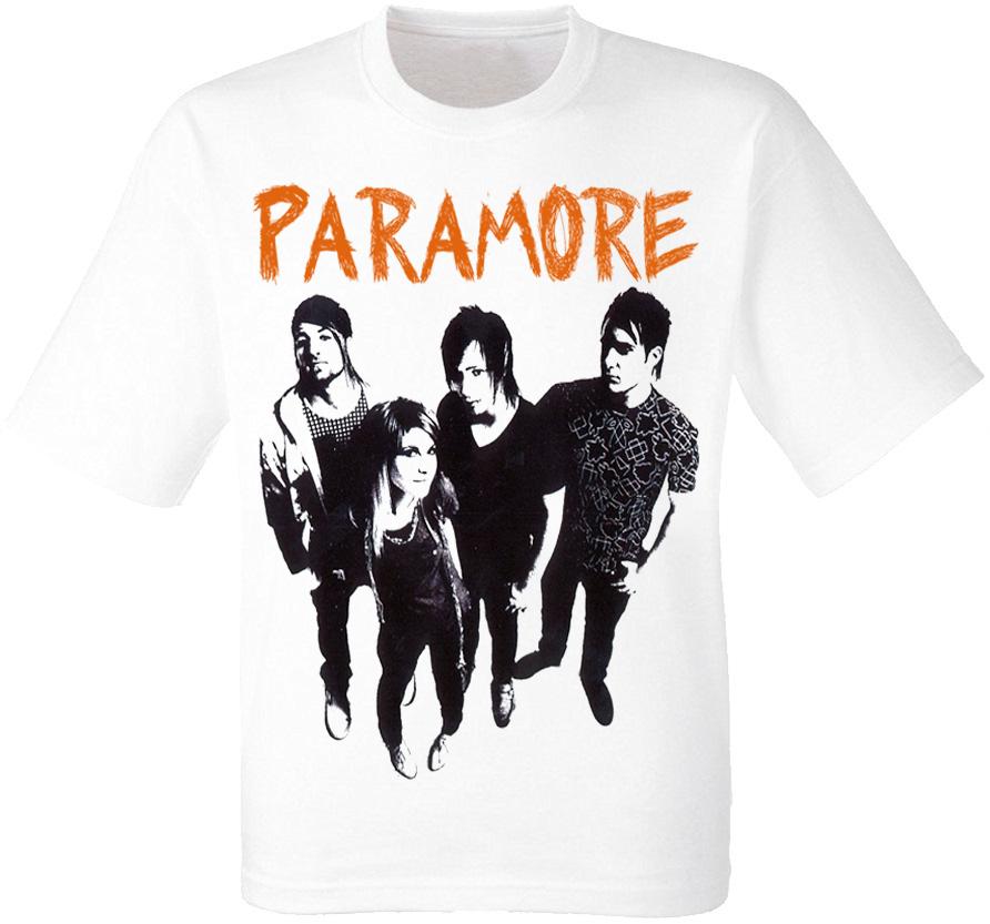 "Футболка Paramore ""Riot!"" (белая)"