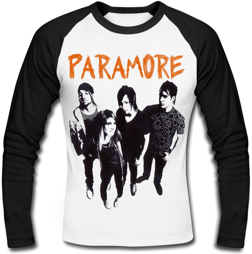 """Футболка с длинным рукавом Paramore """"Riot!"""""""