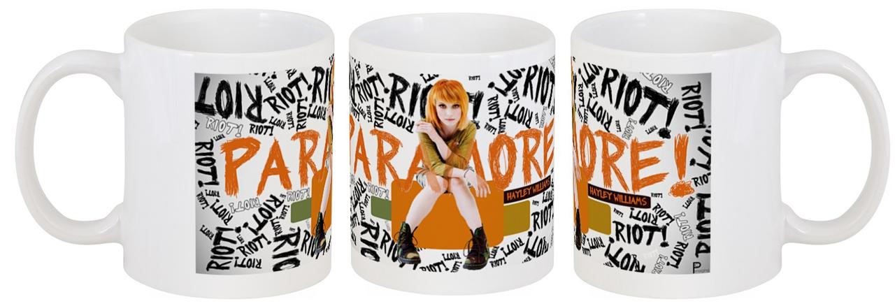 "Кружка Paramore ""Riot!"""