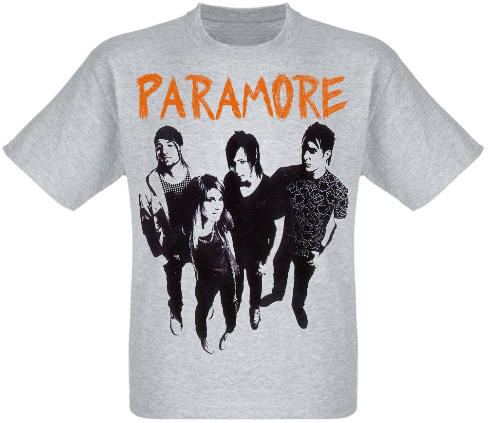 "Футболка Paramore ""Riot!"" (меланж)"