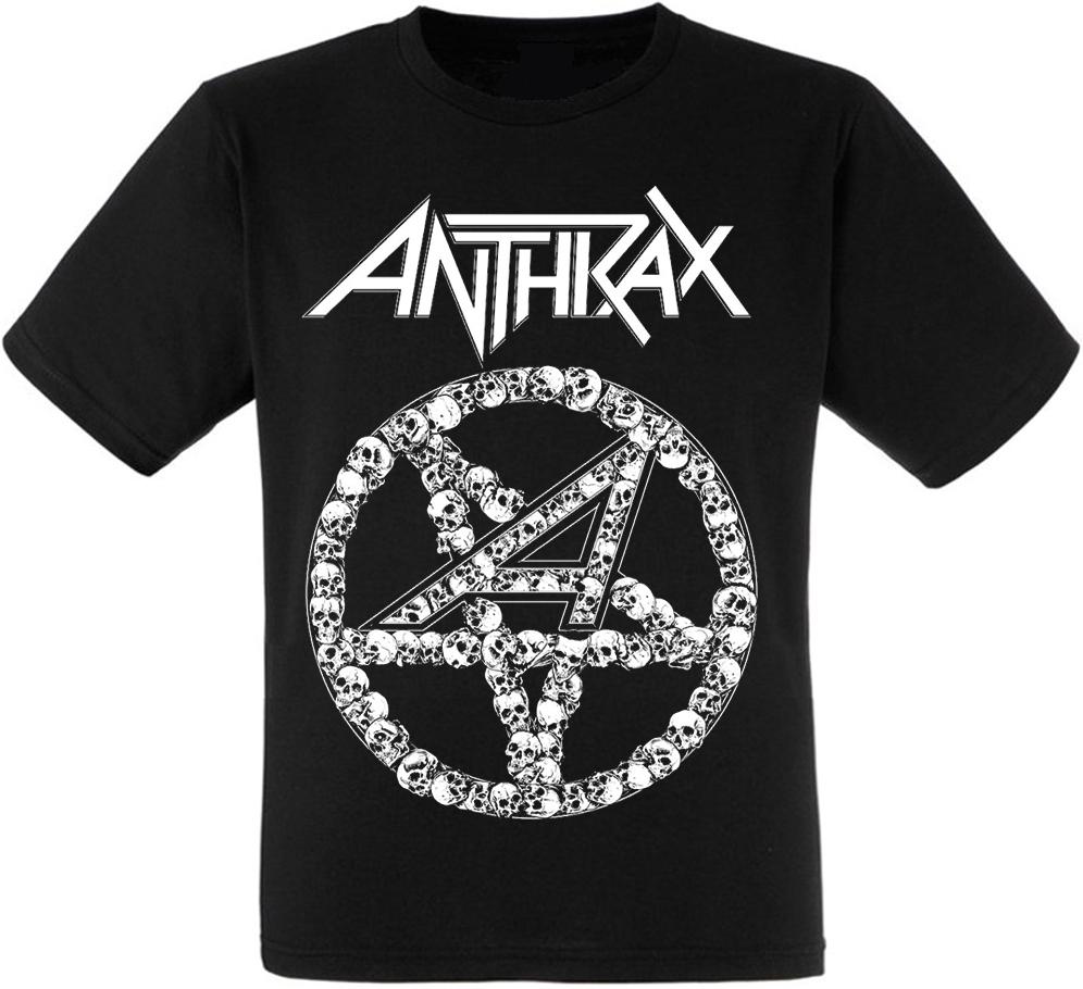 "Футболка Anthrax ""Pentagram Skulls"""