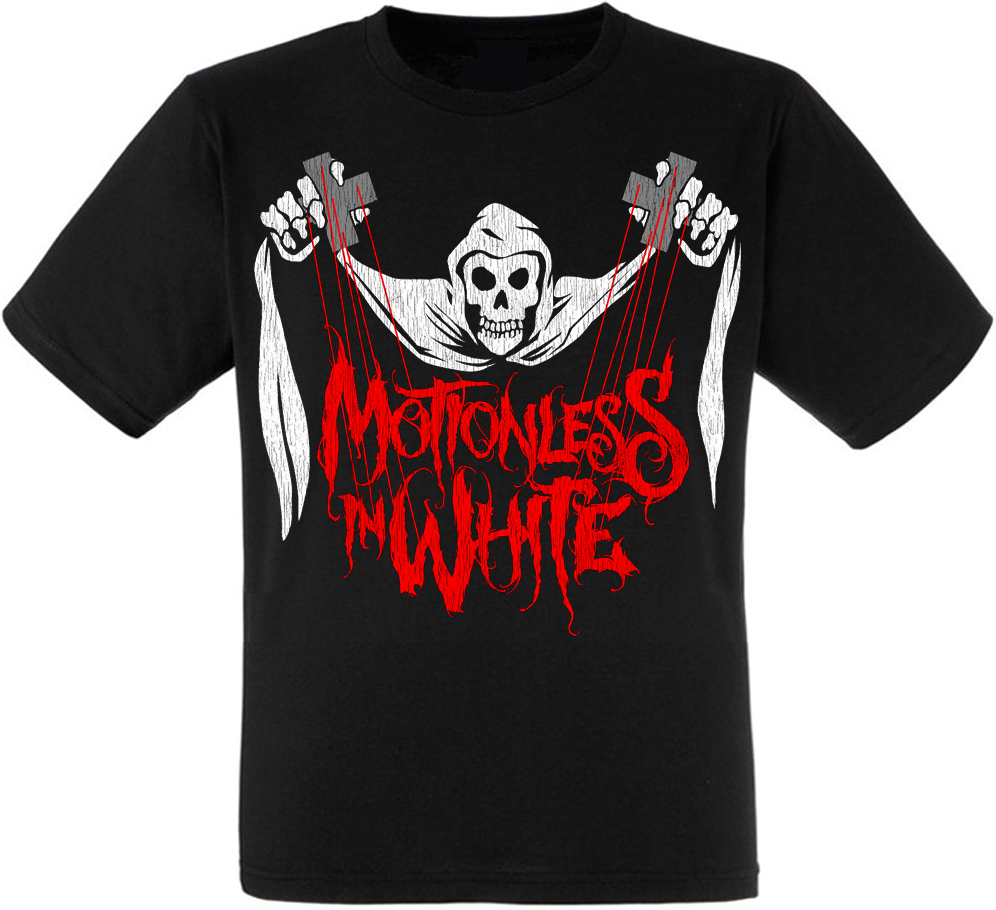 """Футболка Motionless In White """"Puppet Master"""""""
