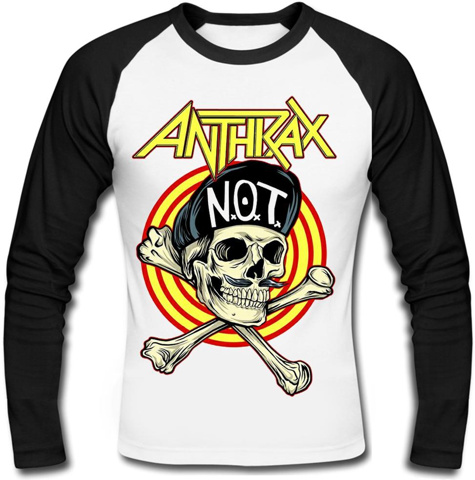 "Футболка з довгим рукавом Anthrax ""Not Man Skull"""