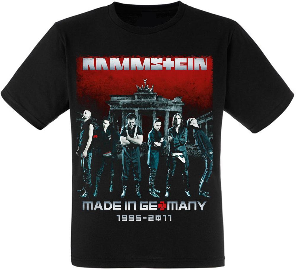 "Футболка Rammstein ""Made in Germany 1995–2011"""