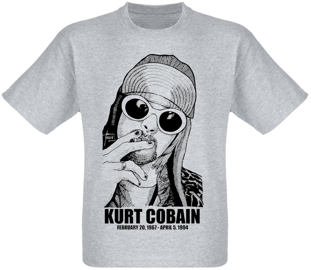 "Футболка Nirvana ""Kurt Cobain"" (1967-1994)"
