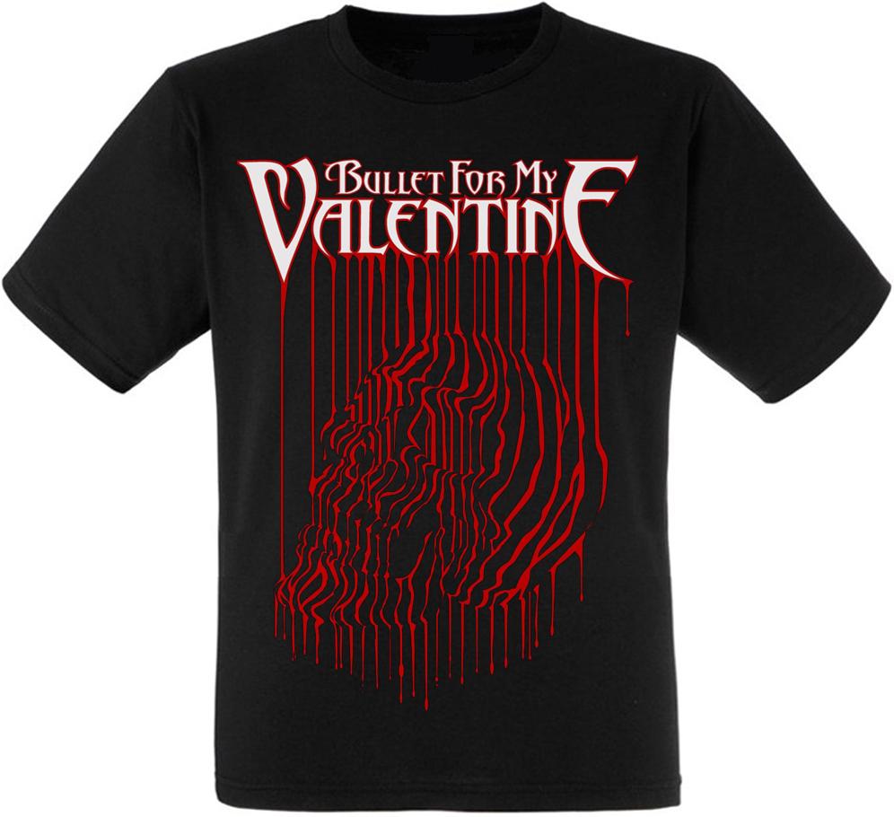 "Футболка Bullet For My Valentine ""Bloody Skull"""