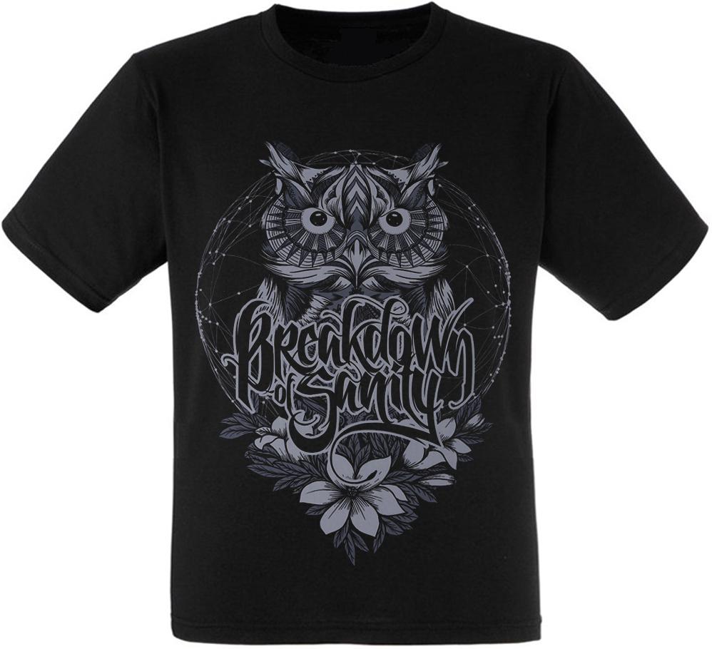 Футболка Breakdown Of Sanity (owl)