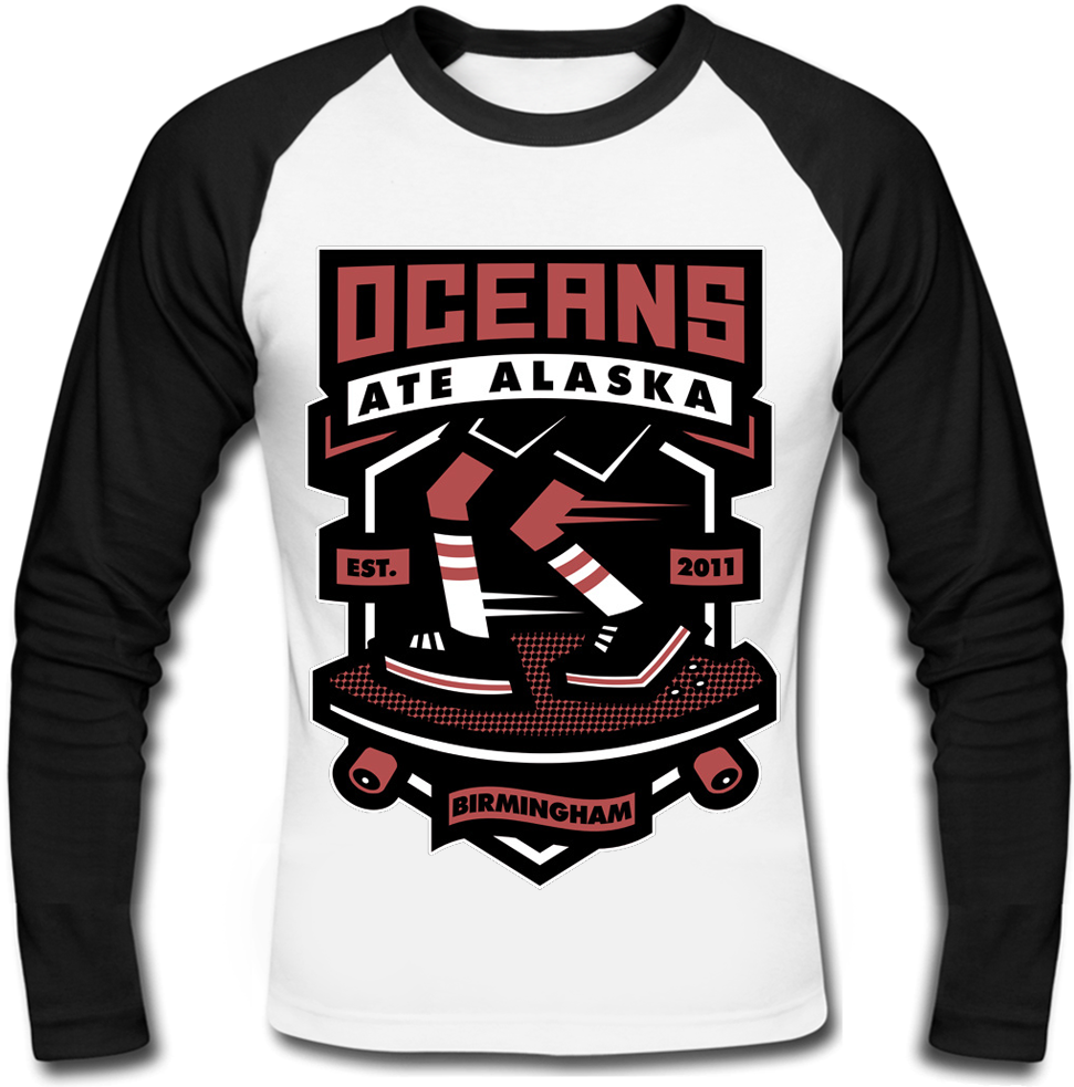 """Футболка с длинным рукавом Oceans Ate Alaska """"Cruiser"""""""