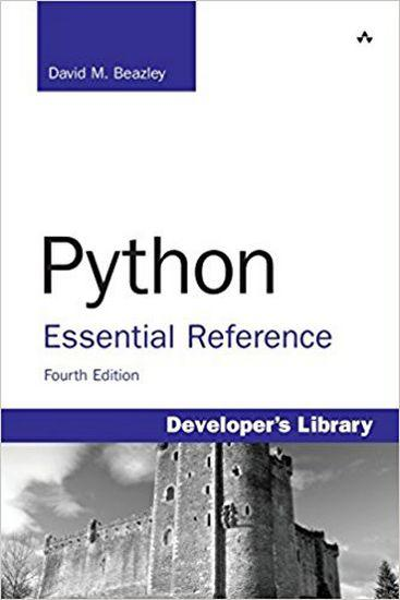 Python Essential Reference , 4th Edition