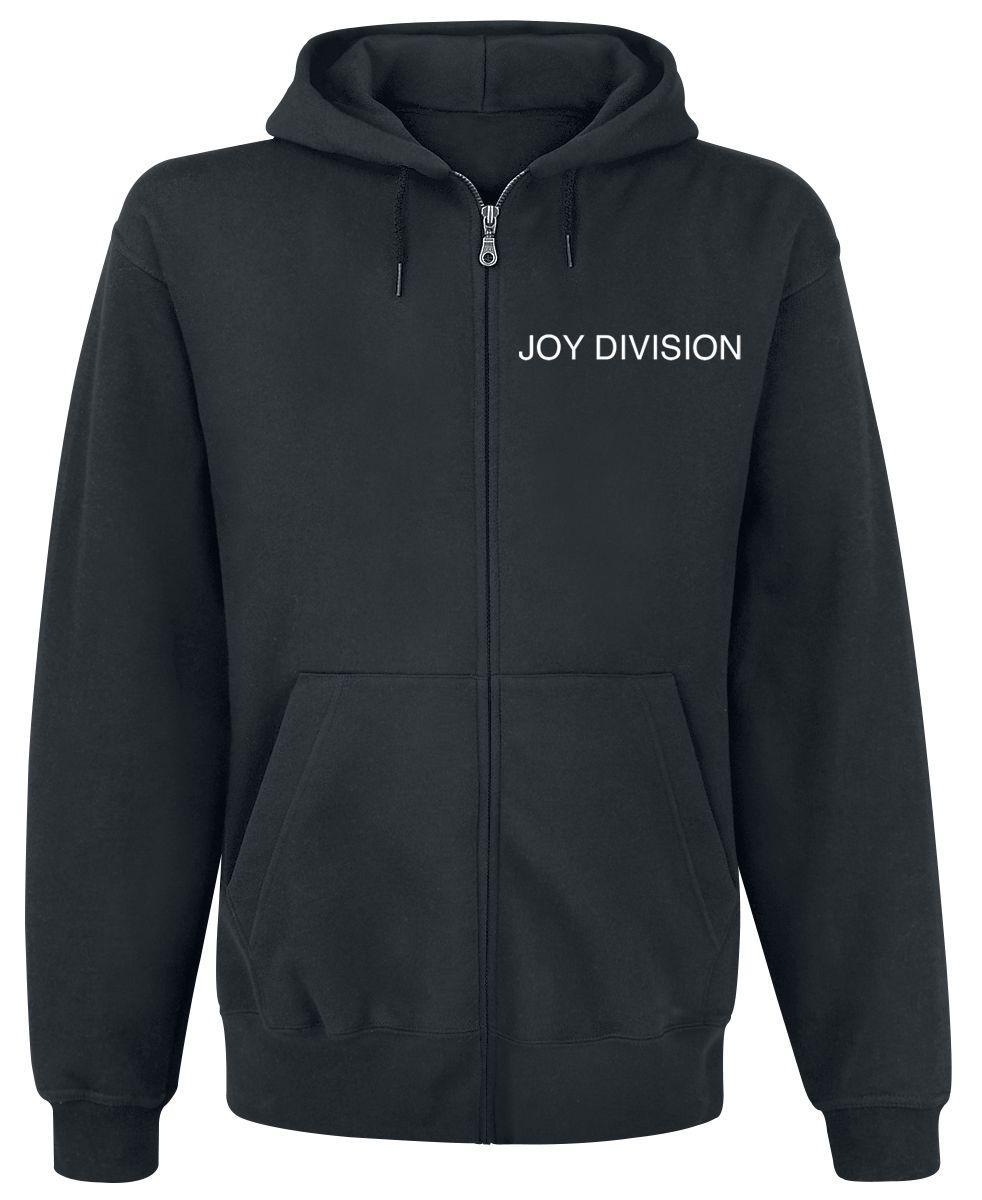 Толстовка с молнией Joy Division - Unknown Pleasures