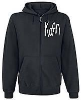 Толстовка с молнией Korn - Scratched Type