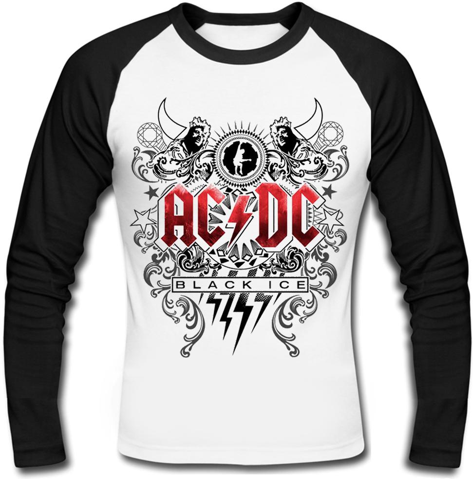 """Футболка с длинным рукавом AC/DC """"Black Ice"""""""