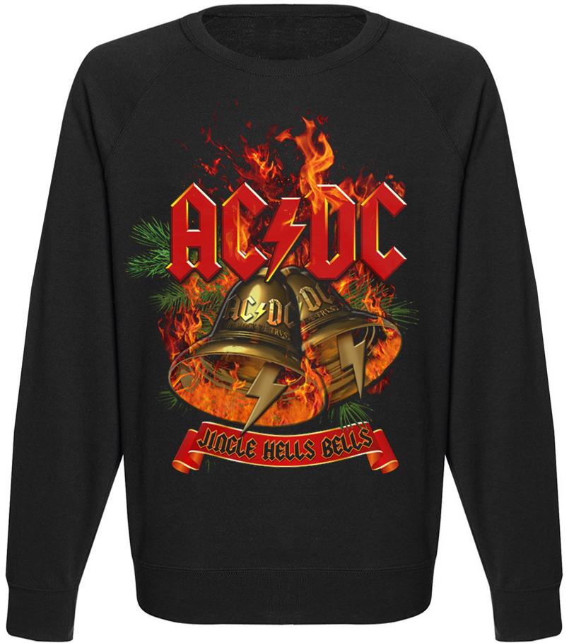 Свитшот AC/DC - Jingle Hells Bells