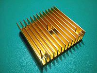Радіатор головки блоку екструдера MK8 / MK7 , алюміній, фото 1