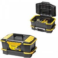 Ящик для инструмента с преставляющимися перегородками и органайзером  31X24.7X50.7 СМ