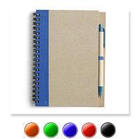 Эко блокнот V2389 / es95271, А5, с ручкой, кремовый блок в линейку