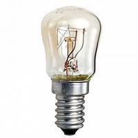 Лампа накаливания РП 15Вт Е14 прозрачная для холодильника