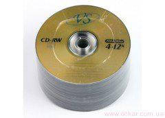 VS CD-RW 700Mb 80min 4-12x (bulk 50) [822002]