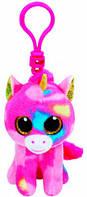 Единорог Fantasia, мягкая игрушка-брелок 12 см, Beanie Boo's, TY (36619)