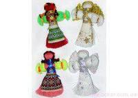 Кукла-мотанка малая с магнитом Украина [335095]