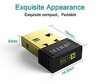 Мини WiFi адаптер USB EDUP EP-N8553 150M
