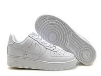 Белые кроссовки Nike Air Force 1 (F01)