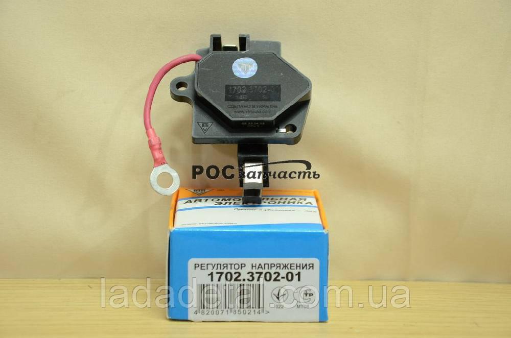 Регулятор напряжения (щеточный узел) ВАЗ 2108, 2109, 21099 старый образец ВТН 1702.3702-1