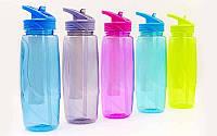 Бутылка для воды непроливайка 750 мл (тритан)