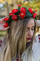 Віночок вінок головний убір для українського костюму плетений