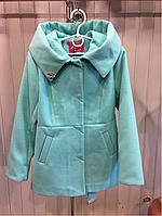 """Пальто подростковое для девочек """"Шанель"""""""