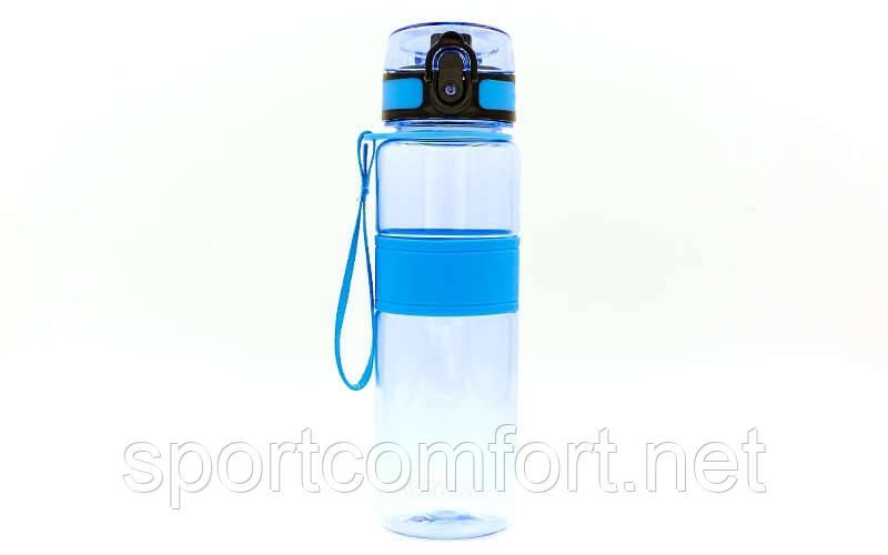 Спортивна пляшка з тритана 500 мл