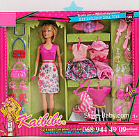 Набор Кукла с платьями и аксессуарами