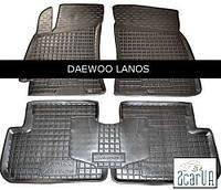 Полиуретановые коврики в салон Daewoo Lanos (Avto-Gumm)