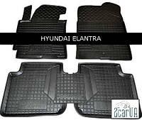 Коврики в салон Avto-Gumm для Hyundai Elantra 2014-