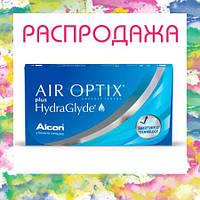 Контактные линзы AirOptix plus HydraGlyde